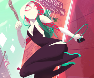 Marvel and spider gwen image