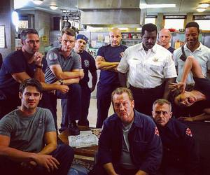chicago fire, family, and steve r mcqueen image