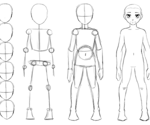 how to draw a body, drawing tips, and drawing how to image