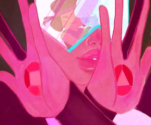 garnet, ruby, and steven universe image
