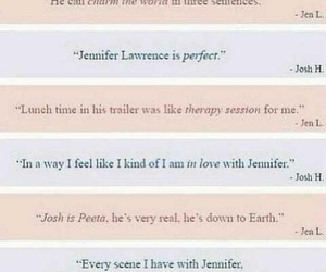 Jennifer Lawrence, quotes, and the hunger games image