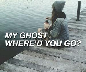 ghost, grunge, and Lyrics image