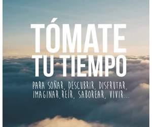 tiempo, vivir, and frases en español image