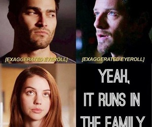teen wolf, hale, and derek hale image
