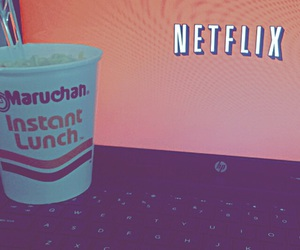 tumblr, food, and netflix image