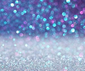 wallpaper, glitter, and blue image