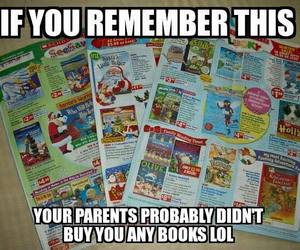 funny, lol, and books image