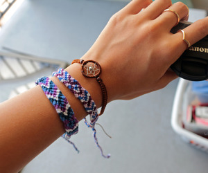 bracelets, canon, and cool image