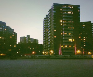 alone, beach, and city image