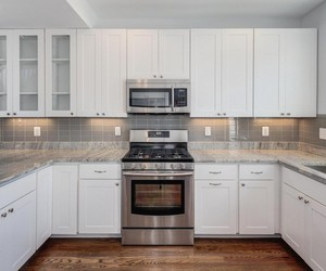 subway tile, kitchen backsplash ideas, and kitchen backsplash image