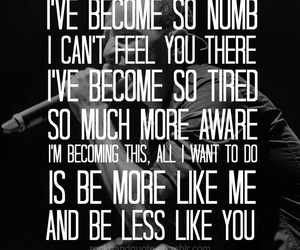 quotes, linkin park, and NUMB image