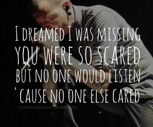 quote and linkin park image