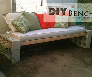 bench, creative, and diy image