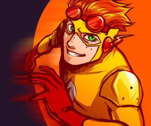 kid flash and young justice image