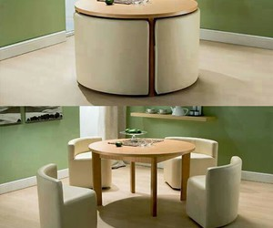 table, home, and chair image