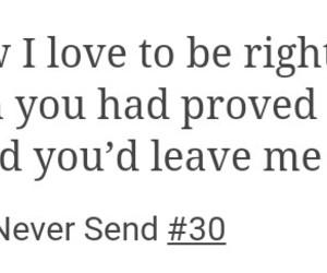 broken, heartbreak, and leave image