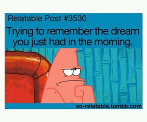 funny, patrick, and Dream image