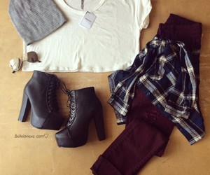 fashion, outfit, and love image