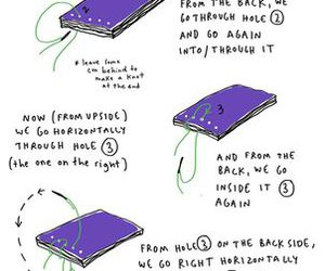 binding, book, and instructions image