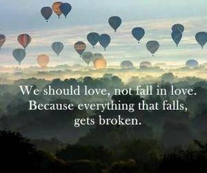 falling in love, heartbroken, and love image