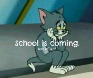 school, sad, and Tom image