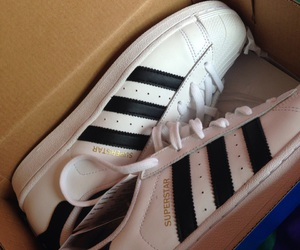 shoes superstars addidas, and minesss babe, and this pic its mine image