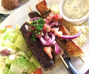 beef, Chicken, and falafel image