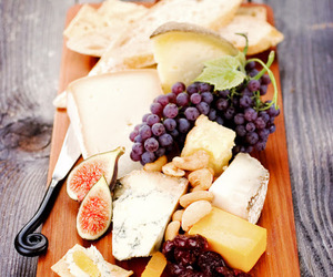 cheese, food, and figs image