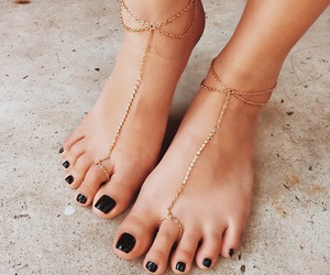 nails, accessories, and summer image