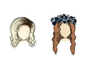 lana del rey, marina and the diamonds, and hair image