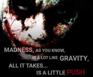 joker, movie quote, and quote image