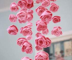 diy, pretty, and rose image