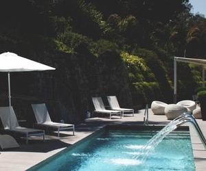 pool, summer, and luxury image