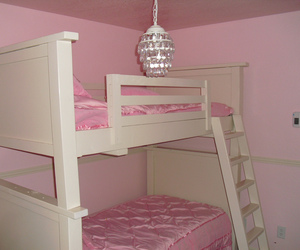 pink, bedroom, and pastel image