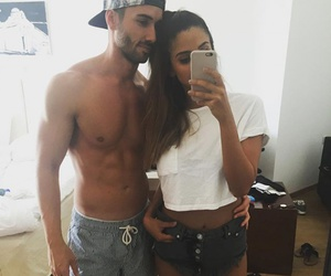 body, couple, and fit image
