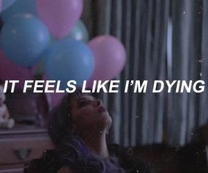 crybaby, Lyrics, and pity party image