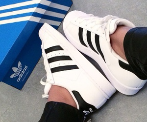 adidas, sneakers, and girl image