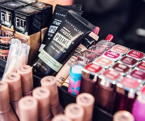 lipstick, makeup, and Maybelline image