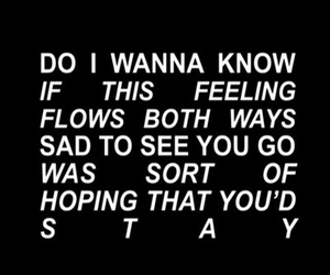 arctic monkeys, do i wanna know, and Lyrics image