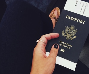 August, passport, and rings image