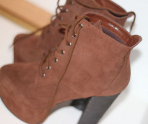 fashion, shoes, and brown image