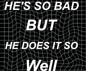 black&white, grunge, and lyric image
