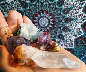crystal, tumblr, and boho image