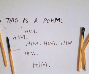 poem, him, and quotes image