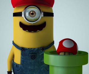 minions and mario image