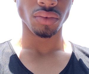 lips, boy, and guy image