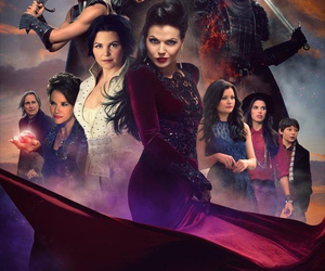 once upon a time, emma swan, and belle image