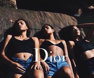girl, dior, and fashion image