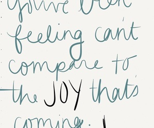happiness, joy, and romans 8:18 image
