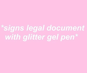 pink, glitter, and quotes image